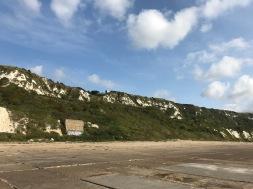 Die Kreidefelsen zwischen Dover und Folkstone