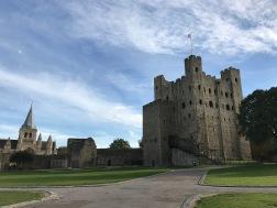 Rochester Castle und Kathedrale