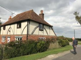 Fachwerkhäuser überall in Kent