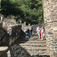 Steile Wege in Clovelly