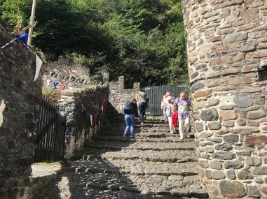 Steile Wege in Clovelly