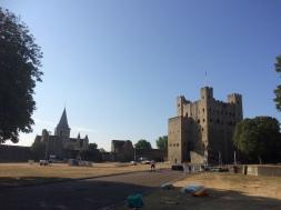 Rochester Schloss und Kathedrale