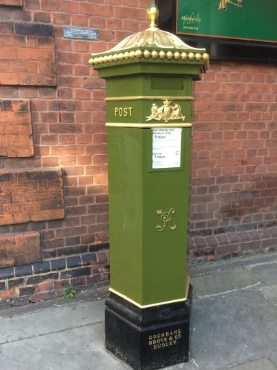 Viktorianischer Briefkasten