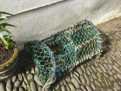 Hummerkorb in Clovelly