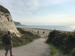 Wandern and der Kueste