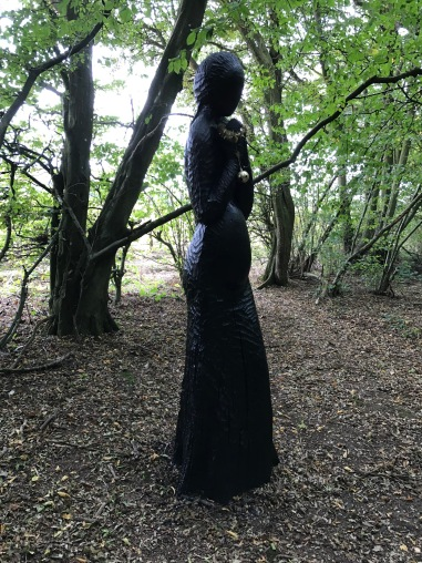 Lady in the Woods