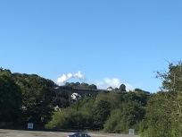 Dampflock entlang Torbay