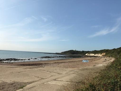 England der Küste zwischen Dover und Folkstone