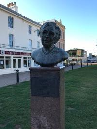 Agatha Christie Sculpure